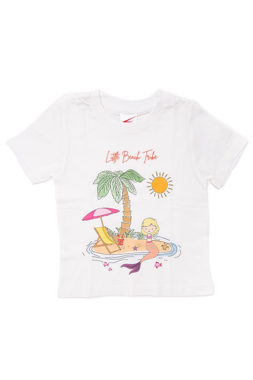 White T-shirt mermaid